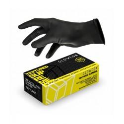 GUANTES GLOVCON® LATEX TEXTURADO - negro - 100uds