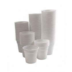 Vasos para agua desechables - 100uds