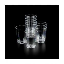 Vasos para agua desechables CLEAR - 50uds