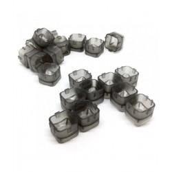 Cups modulares BLACK - 100uds