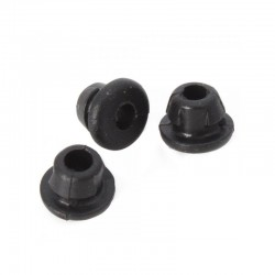 Nipples de silicona BLACK - 100 uds