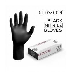 GUANTES GLOVCON® Nitrilo - negro - 100uds