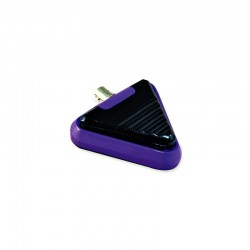 Pedal Triangular Metálico Purple Gem